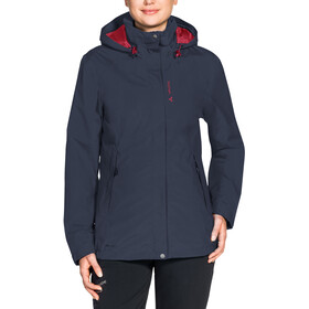 VAUDE Kintail IV 3-in-1 Jas Dames, eclipse